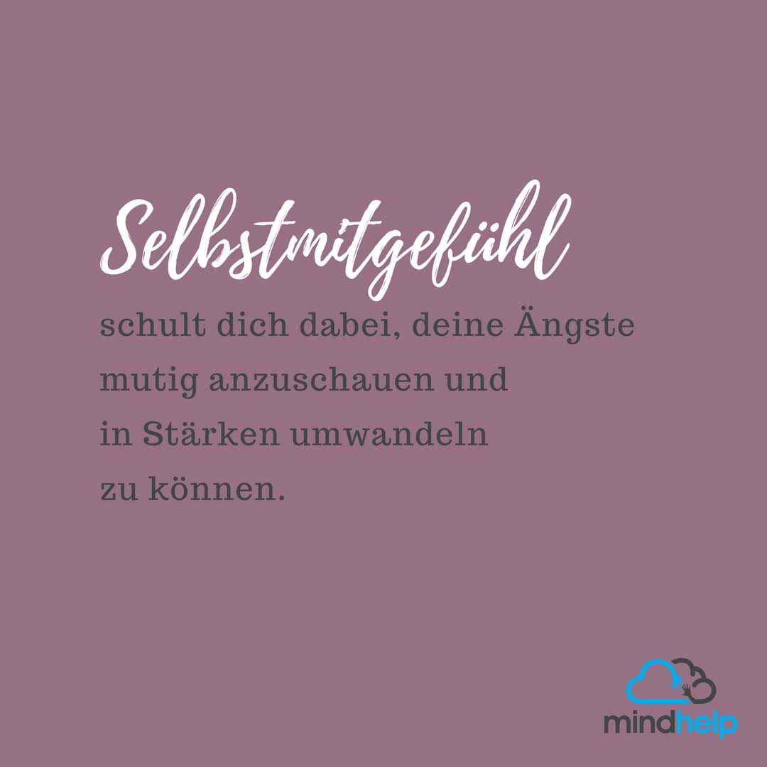 Selbstmitgefühl Instagram Zitat #2